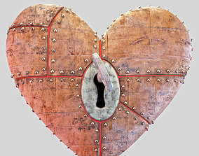 3D Heart piece animated