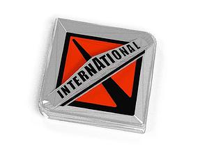 3D model International Truck Logo