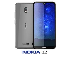 3D model Nokia 2 2 Steel