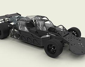 3D model Flip car