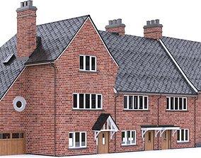 English Brick House 05 3D model