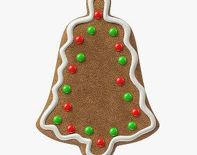 3D model gingerbread cookie 11