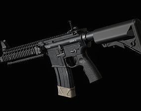 Daniel Defense MK18 3D model