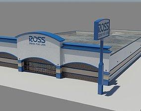 Ross Clothing Department Store 3D asset
