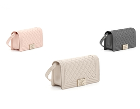 Chanel Handbag 3D model luggage