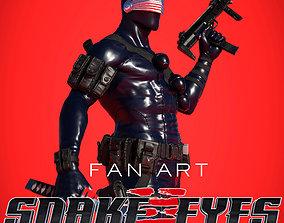 Snake Eyes 3D Printable