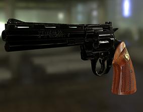 Magnum Colt Python 357 3D model