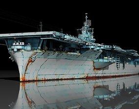 3D USS Essex CV-9