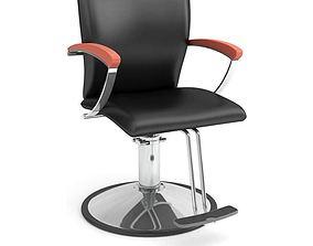 Black Beauty Parlor Chair 3D