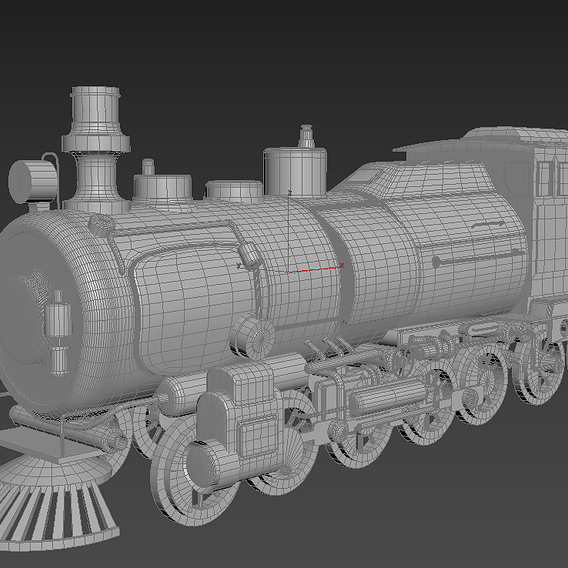 Simple train models