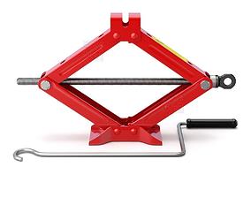 spindle Scissor jack - Car Lifter 3D