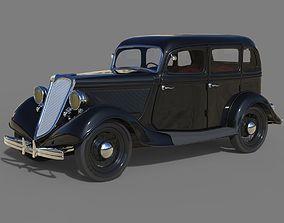 3D Ford V8 Model B 1933
