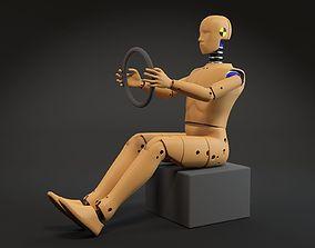 Crash test dummy 3D model