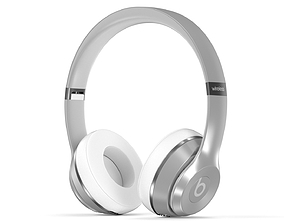 3dd Beats Solo 3 Silver - Element 3D