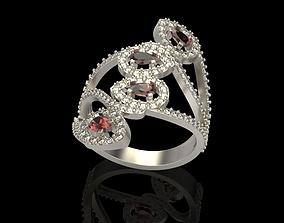 Long finger ring 3D printable model