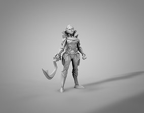 3D print model Diana League of Legends