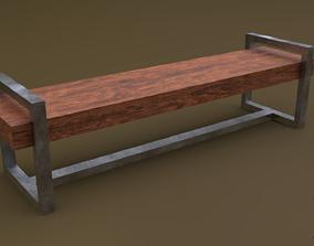 Bench 18 3D model