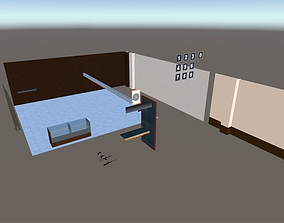3D model Shooting Interior