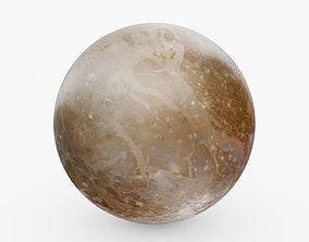 3D model Planet Pluto