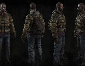 3D model Survivor Realtime