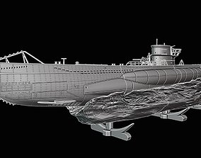 Submarine U Boot Typ VIIC printing 3D print model