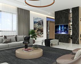 3D Interior Villa BM first floor