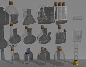 3D model PBR Labware kit kork