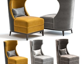 3D model The Sofa and Chair Co - Parker