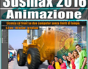 animated 005 3ds max 2016 Animazione vol 5 Italiano cd