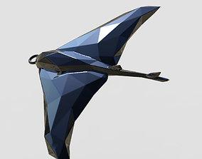 Stingray - Ocean Charm 3D Model - Faceted Printing