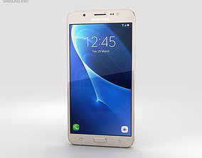 android 3D Samsung Galaxy J7 2016 Gold
