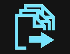 File Batch Exporter - Script for Maya 3D model