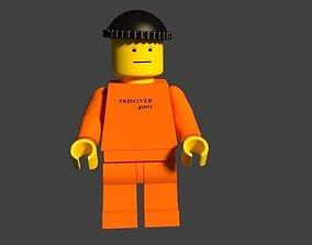 3D model Lego Prisoner 4001 Grandsons request