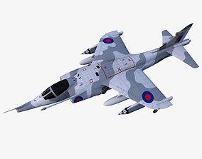 Harrier GR3 3D asset