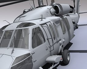 UH 60 Blackhawk Navy Helicopter 3D