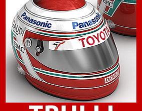 Helmet F1 2008 2009 Jarno Trulli f1 3D