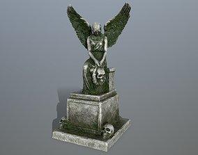 statue 3 3D asset