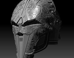 SWTOR Bengal Sith Acolyte helmet 3D printable model 1