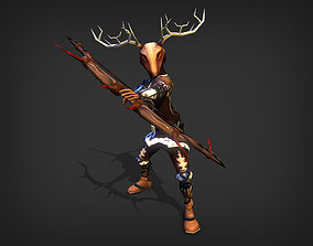 Hunter Model 3D asset