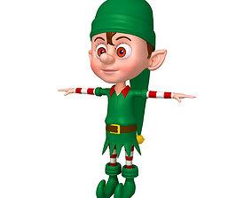 Christmas elf 3D