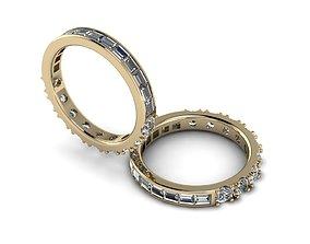Eternity Jewelry Ring 002 3D print model