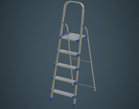 Step Ladder 4A 3D model