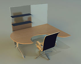 3D Table table wood