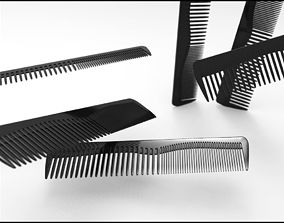 3D model hair Hair comb classic design