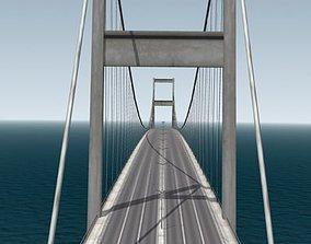 3D model Bosphorus Bridge