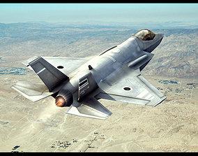 3D turbine F-35 Lightning II