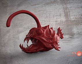 Angler fish toy 3D print model