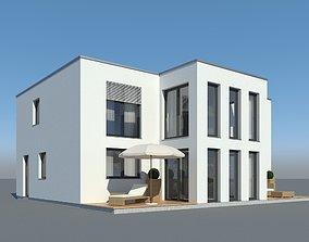 3D Family House 012