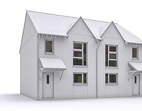 3D asset realtime Townhouse 08
