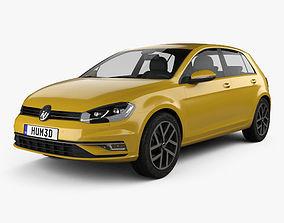 Volkswagen Golf 2017 3D model